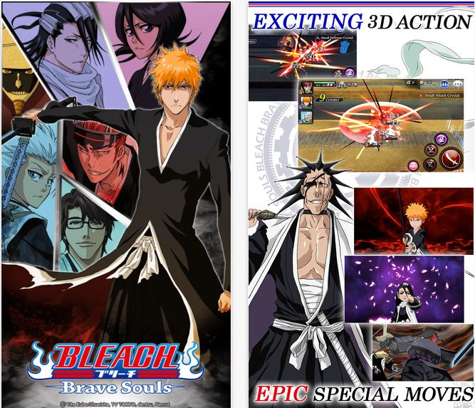 Capture d'écran Bleach : Brave Souls iOS
