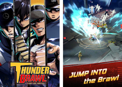 Capture d'écran Thunder Brawl : Fight for survival Android