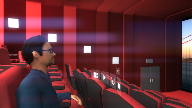 Capture d'écran VR ONE Cinéma iOS
