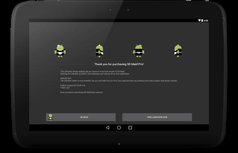 Capture d'écran SD Maid Pro – Unlocker