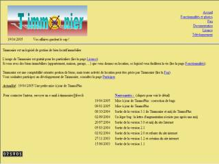 Capture d'écran Timmonier