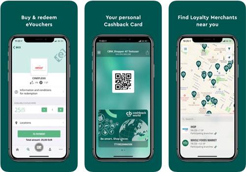 Capture d'écran Lyoness Mobile iOS