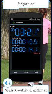 Capture d'écran Minuterie et chronomètre