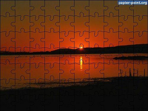 Capture d'écran Puzzle Coucher de Soleil 4