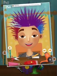 Capture d'écran Salon de coiffure pour enfants