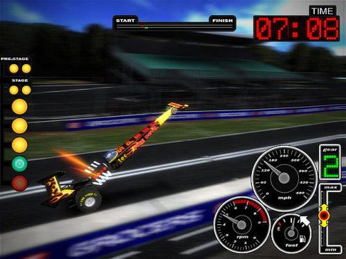 Capture d'écran Ultra Drag Racing