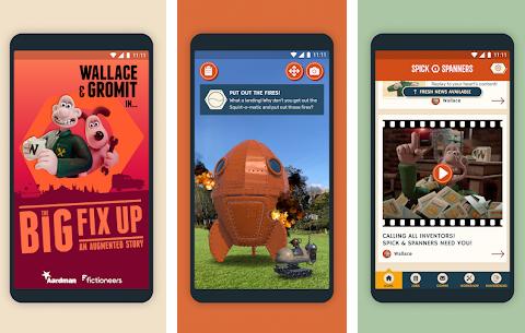 Capture d'écran Wallace et Gromit: Big Fix Up Android