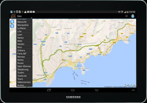 Capture d'écran Trafic Futé Android