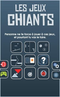 Capture d'écran Les Jeux Chiants – GRATUIT