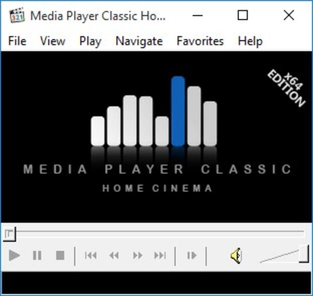 Capture d'écran Media Player Classic Home Cinema