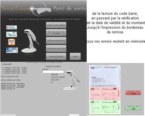 Capture d'écran SmartCaisse_TicRest
