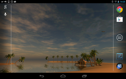 Capture d'écran Maldives 3D, True Weather