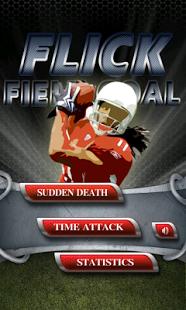 Capture d'écran Tir au but 3D Flick Field Goal