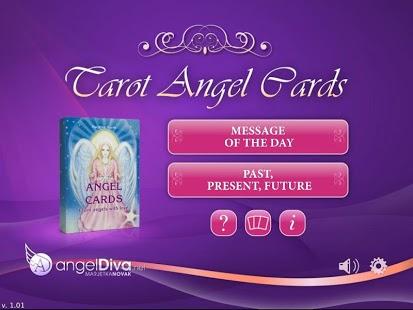 Capture d'écran Cartes angéliques de Tarot