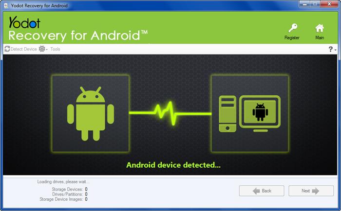 Capture d'écran Yodot Recovery pour Android