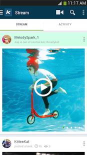 Capture d'écran Keek – Social Video