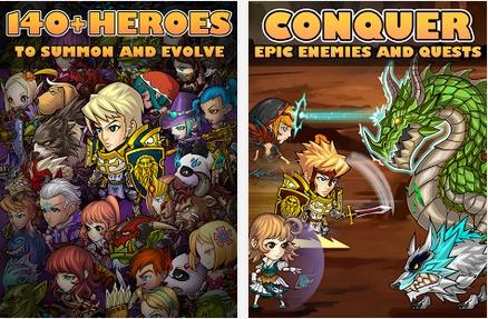 Capture d'écran Pocket Knights Android