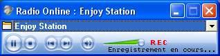 Capture d'écran Radio Online