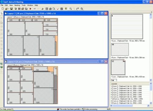 Capture d'écran Cutting Software Solution