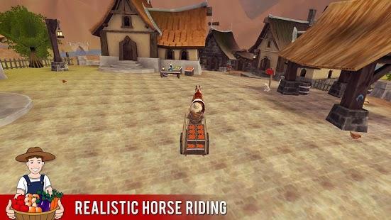 Capture d'écran Farm Hill Climb Cheval