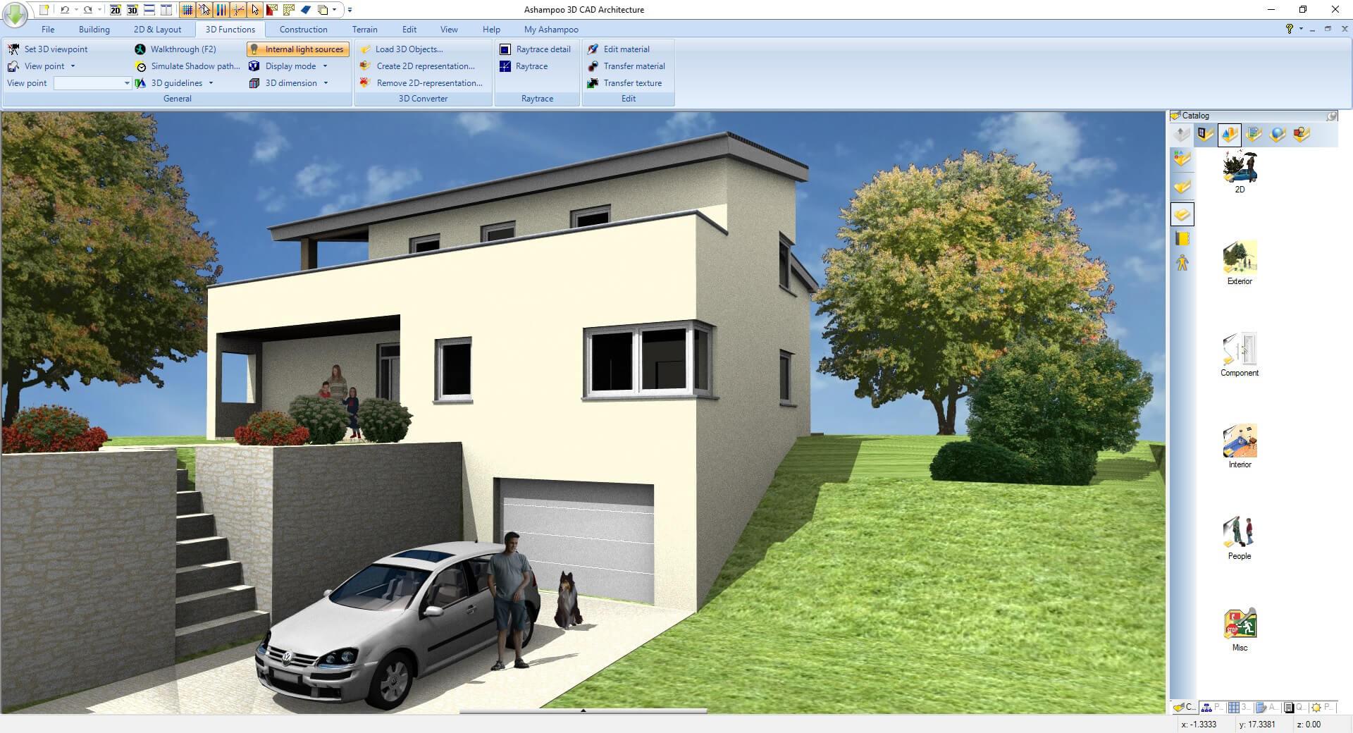 Capture d'écran Ashampoo 3D CAD Architecture 6