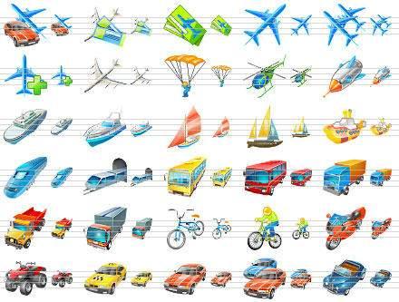 Capture d'écran Transport Icons for Vista
