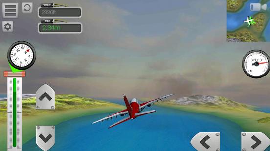 Capture d'écran Flight Sim Passenger Plane