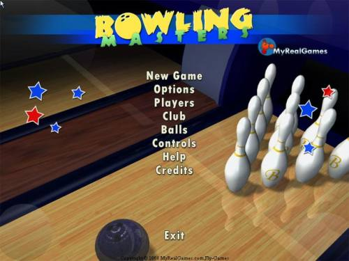 Capture d'écran Bowling Masters