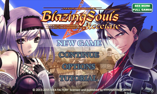 Capture d'écran RPG Blazing Souls Accelate