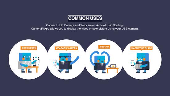 Capture d'écran CameraFi – USB Camera / Webcam