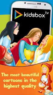 Capture d'écran Kidsbox.tv
