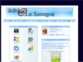 Capture d'écran APi @ la Loupe Viewer 2008