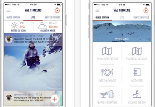Capture d'écran SKI 360 pour iOS
