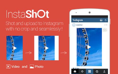Capture d'écran InstaShot pour Instagram