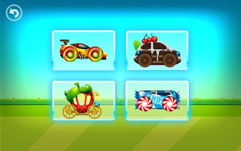 Capture d'écran Fun Kid Racing – Candy Land