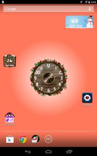 Capture d'écran Horloges Analogiques Widget