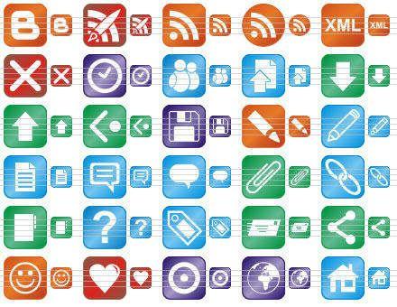 Capture d'écran Perfect Blog Icons