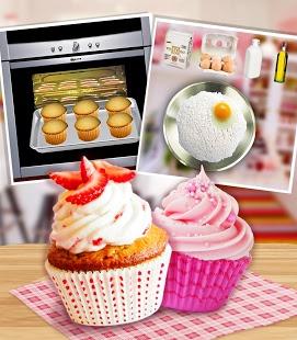 Capture d'écran Tasty Strawberry Cupcake Maker