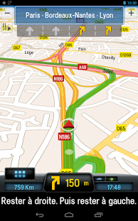 Capture d'écran CoPilot Premium France GPS App