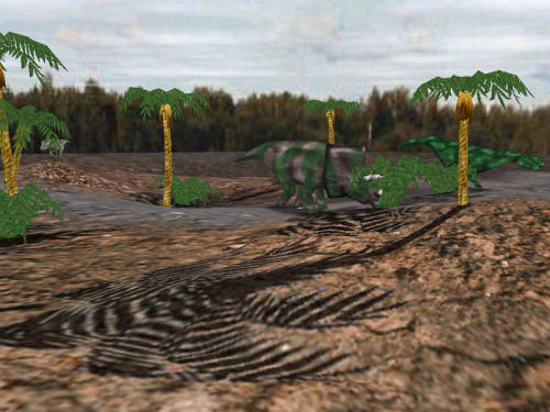 Capture d'écran Dino Glade