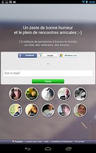 Capture d'écran Inter-chat