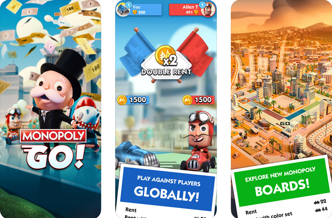 Capture d'écran Monopoly Go iOS