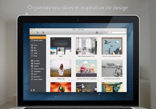 Capture d'écran Ember Mac