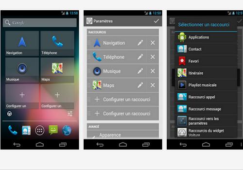 Capture d'écran Le Widget Voiture Android