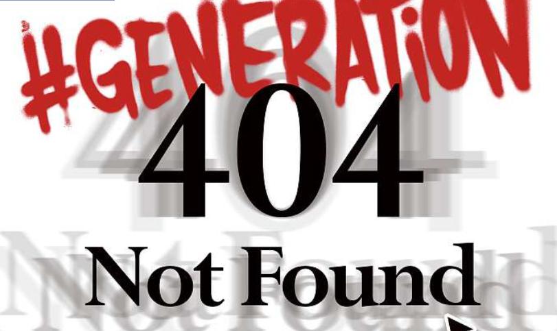 Capture d'écran Géneration 404 – 20 minutes du 24/11/2015