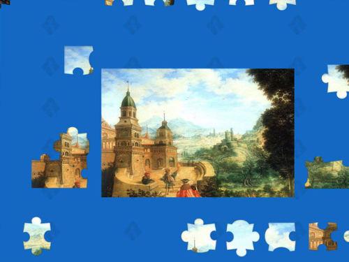 Capture d'écran Glamour Puzzle