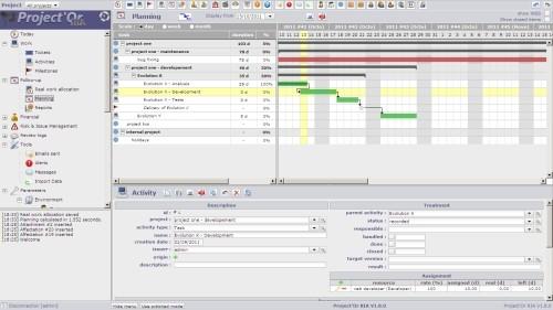 Capture d'écran Project'Or RIA