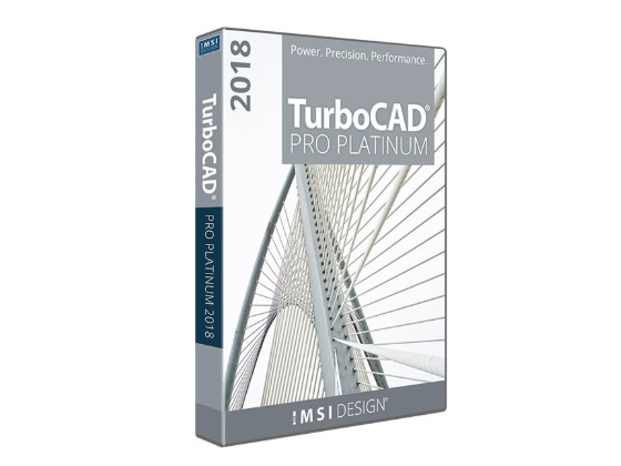 Capture d'écran TurboCAD Pro Platinum