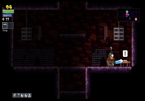 Capture d'écran Rogue Legacy