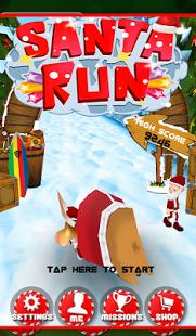 Capture d'écran Surfer de Santa Adventure